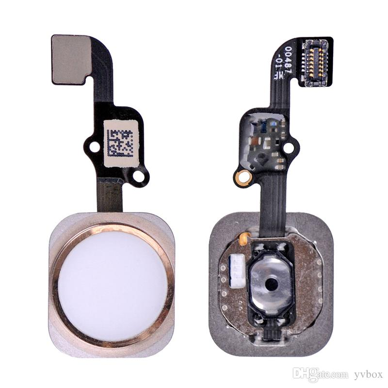 Original New Home Button Fingerabdruck Sensor Rosegold Touch ID Return Key Assembly cable Flex for iPhone 6S / 6S Plus