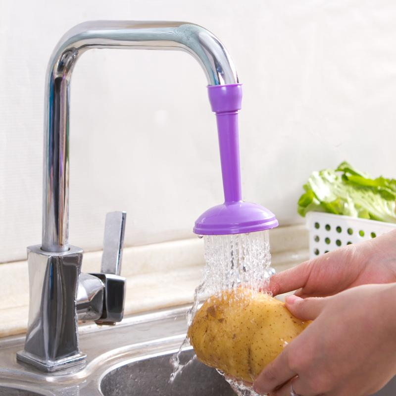 2018 Kitchen Tap Shower Rotating Spray Faucet Water Filter Valve ...