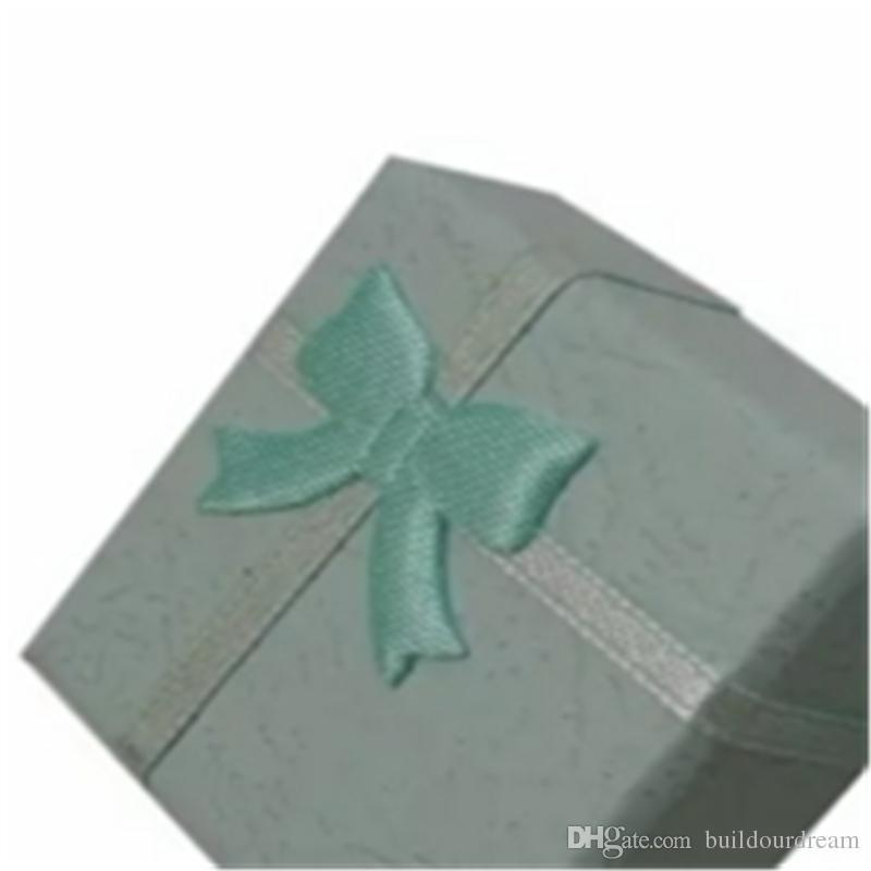 Hot Fashion Jewelry Box, Multi colors Rings Box,Earrings/Pendant Box 4*4*3 Display Packaging Gift Box