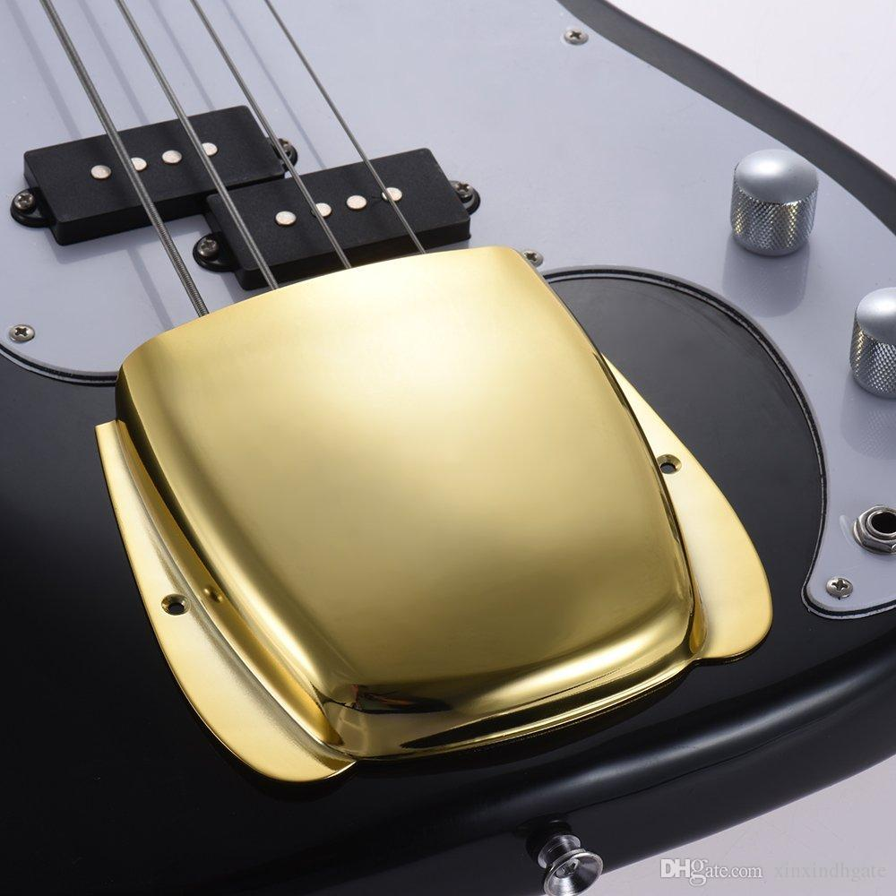 JB Guitar Bridge Cover Protector Gold/Silver/Black Plated for Jazz Bass JB Guitar