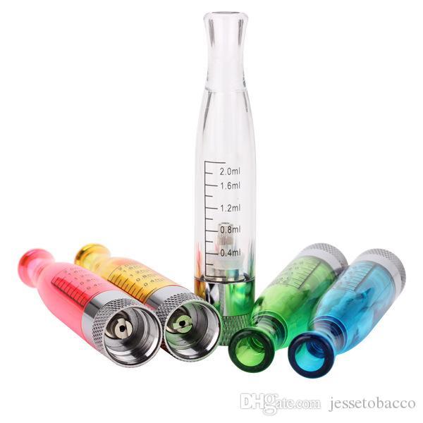 Atomiseurs H2 Cigarettes électroniques Cigarettes H2 Vape 2ml E correspondent à un filetage 510 ego t EVOD EGo twist Batterie e cigs