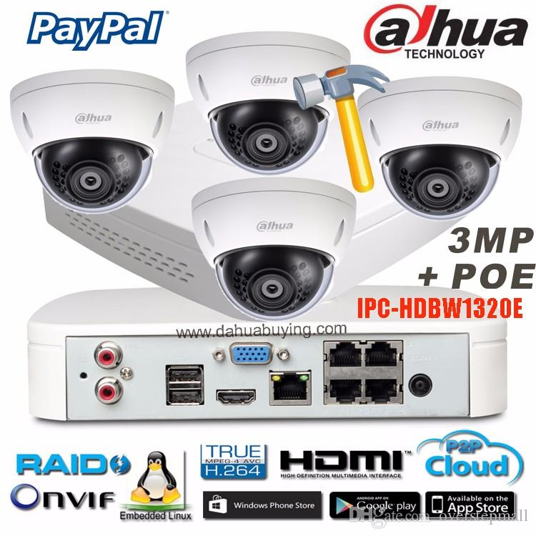 Original Dahua P2P 1080P CCTV Camera System 4CH NVR4104 P Outdoor HD  Infrared Security Camera Home Network IP Camera System UK 2019 From  Overstepmall c81774467