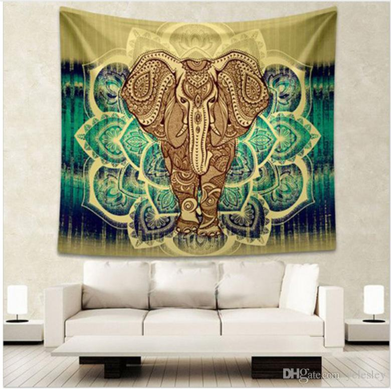 Tapisseries Wrap châle Throw Towel Blanket Tapis de plage Beach Towel Scarve Tapestry Plage Pique-nique Throw Rug Couverture Tapis de plage Tapis