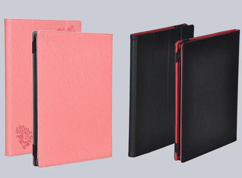 Lüks Baskı Çiçek PU Deri Kılıf Kapak için Lenovo Yoga A12 12.2 inç Tablet + Stylus Kalem Koruma Çantası