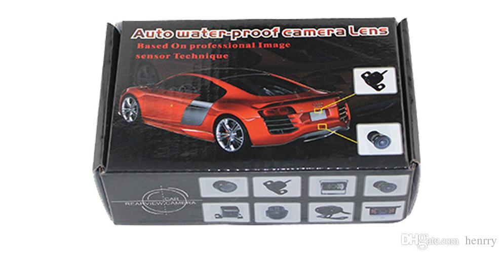 HD Waterproof Rearview Car Camera PZ403 1/4 CMOS DC 12V IP67 Diameter Of Shell 18.5MM 170 Degree 600TVL Post