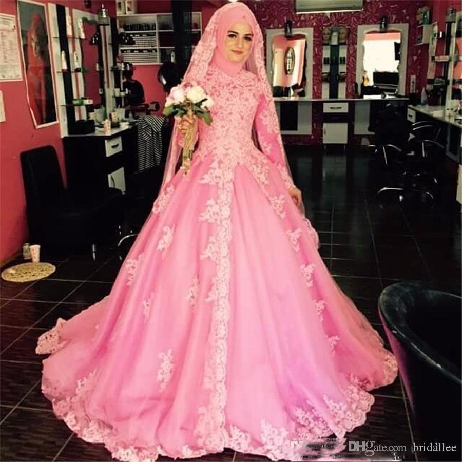Dorable Wedding Dresses Muslim Composición - Colección de Vestidos ...
