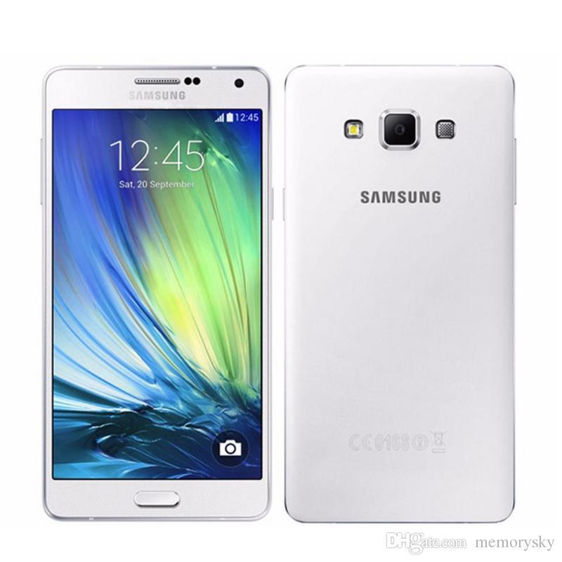 Телефони Самсунг Оригинальный Samsung Galaxy A7 A7000 Сотовые Телефоны Octa  Core 2G RAM 16G ROM 13MP Камера 5.5 Двойная Sim Карта 4G LTE WCDMA ... a9caa106cc5