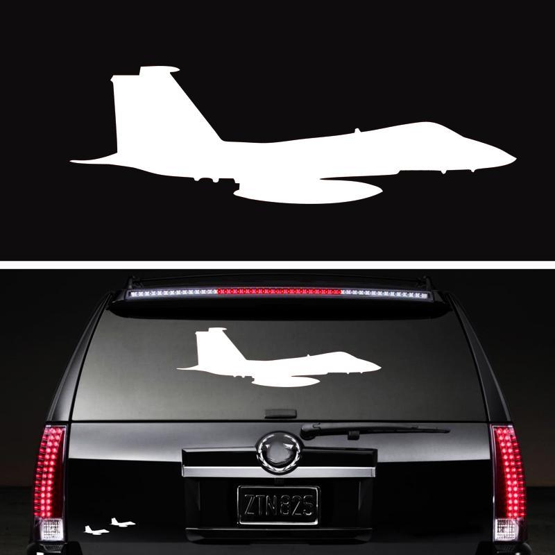 Fighter Jet Sticker Vinyl Decal Car Styling Aircraft Air Force Airline  Pilot Aviation Fly Decorative Art Jdm