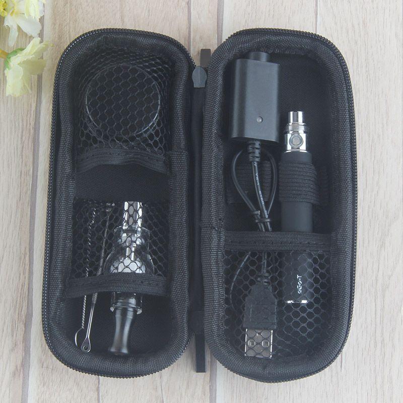 Cigarettes Super E Dry Herb Wax Fixation de vaporisateur Verre Pyrex Verre eGo t Battery Ego kits de démarrage EGO Dab kit de stylos vape
