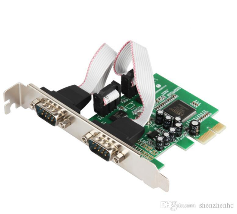 2 Port Rs232 Rs 232 Serial Com To Pci E Express Card Adapter Converter Iocrest Low Profile Bracket The Components Of A Computer