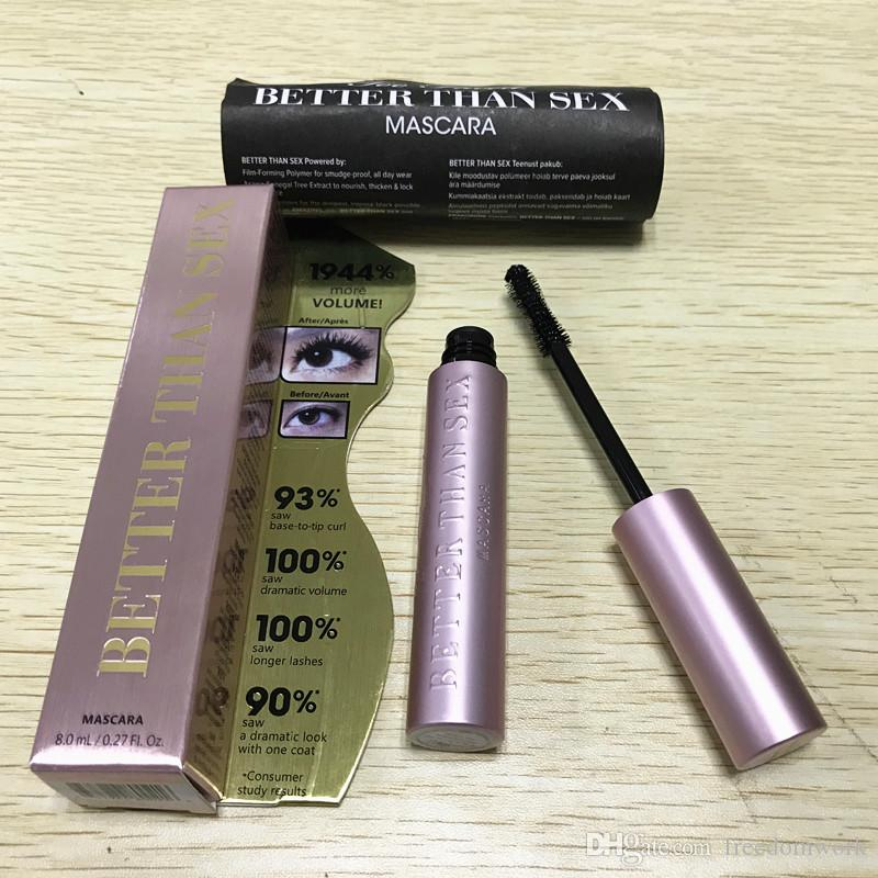 30pcs Better Than Sex Mascara Pink !! With Instructions Faced Cosmetic Better Than Sex Mascara Black Color Volume 8ml In stock !