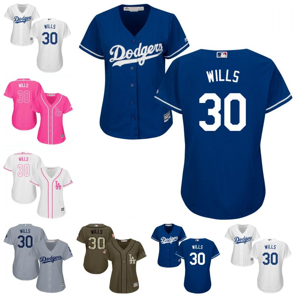 db526876e ... flexbase authentic collection stitched mlb jersey a60db f32ed  purchase  la dodgers 30 maury wills baseball jerseys ladies shirt white blue grey  cubs 53 ...