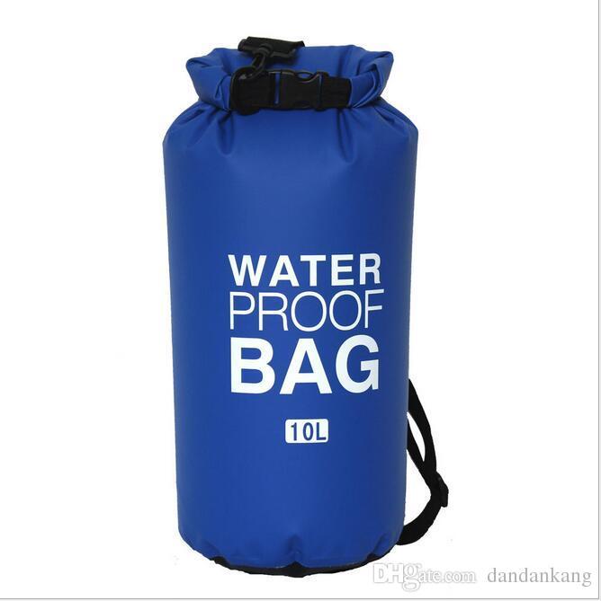 الرياضة في الهواء الطلق التخييم السفر محمولة قابلة للطي للماء حقيبة التخزين الجاف للزورق الكاياك تجمع معدات كيت