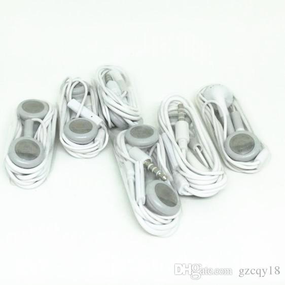Para el iPhone 4 4s 5C en el oído Auriculares Xiaomi Auriculares MP3 Reproductor MP4 Auriculares Auriculares de 3,5 mm con micrófono universal