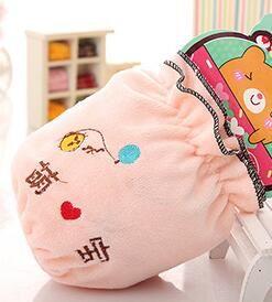 Новый милый текст вышивка дети мультфильм Кристалл бархат анти-грязный рукав рукав PS020 защитные рукава mix заказ как ваши потребности