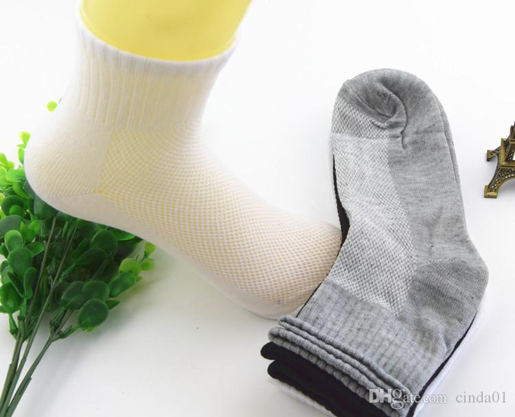 calze da uomo Calze lunghe in cotone Calze a rete Soild primavera estate Soild tutti gli accessori di abbigliamento di taglia uomo spedizione gratuita