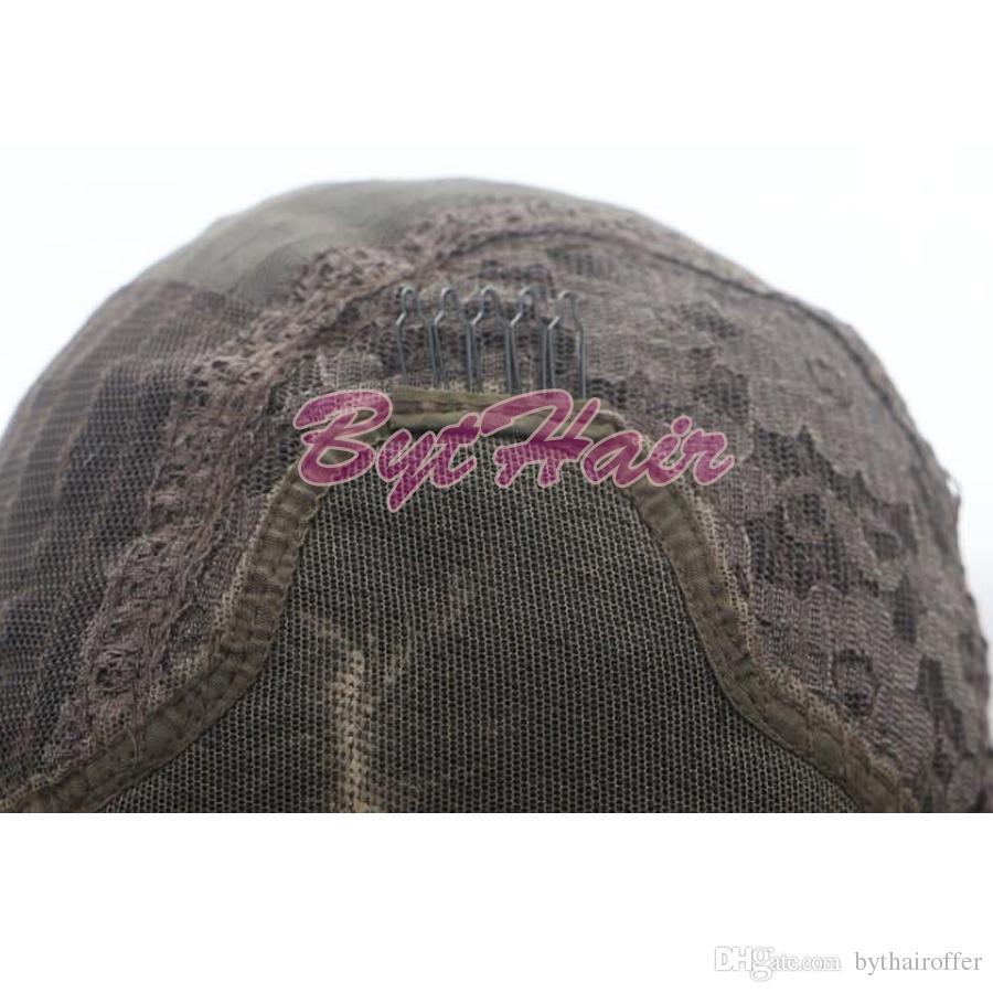 Bythair Natural Hairline Glueless Hitzebeständige Faser Haar Perücken Für Schwarze Frauen Lange Jet Black 1 # Wellenförmige Synthetische Lace Front Perücke