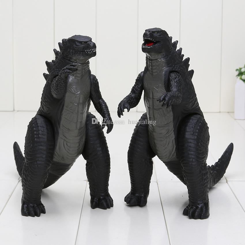 Compre 2 Pçs   Set Figura Do Filme Figuras De Brinquedo Godzilla Pvc Action  Figure Pés E Mãos Móveis Modelo De Filme Godzilla Boneca De Brinquedo 18 Cm  De ... baf3cdeea5f