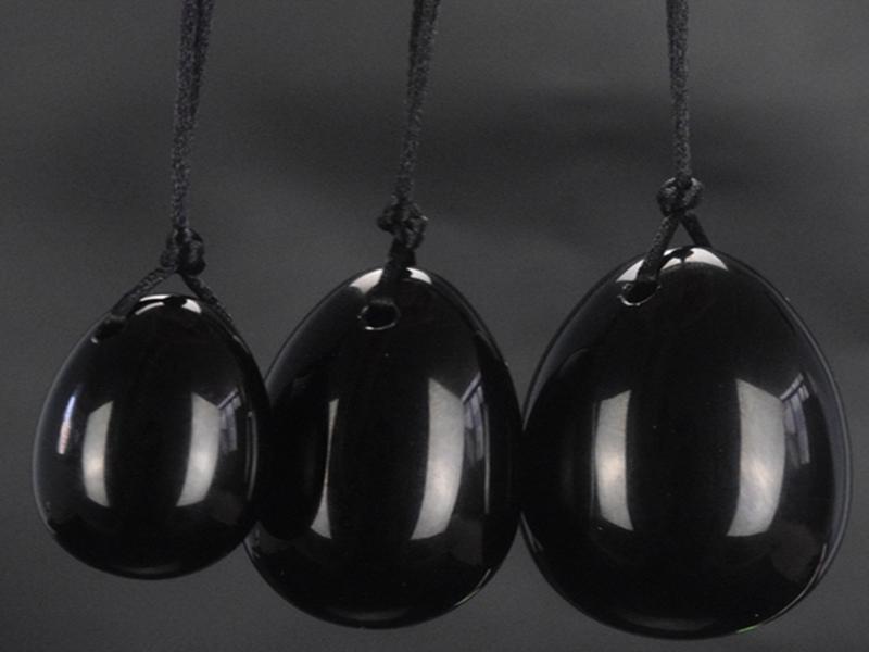케겔 운동 산후 회복 골반 바닥 근육 드릴 천연 흑요석 옥 달걀 로즈 석영 옥 달걀 벤 WA 볼 요니