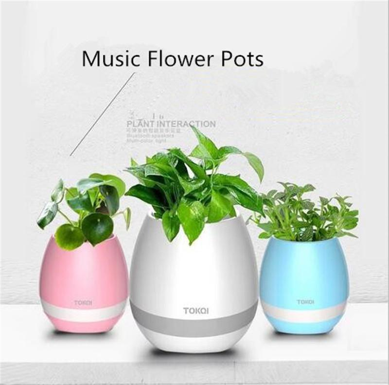 fun unique bluetooth speakers. 2017 Creative Smart Bluetooth Speaker Music Flower Pots Home Office  Decoration Green Plant Vase Touch Induction H803 Fun Toys To Buy
