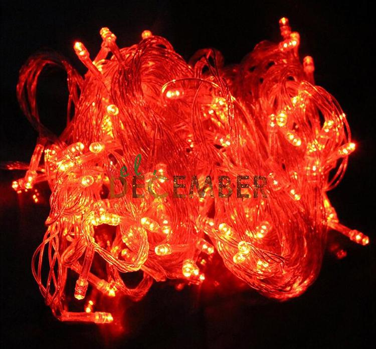 3*AA Battery 10M 100 LEDs LED Flash Light Strings RGB Blue Red Green Pink Purple Warm Cool 8-Modes Outdoor Indoor Waterproof LED String