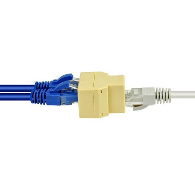 Wholesale Socket Rj 45 Splitter Adatper Connector Ethernet Network ...