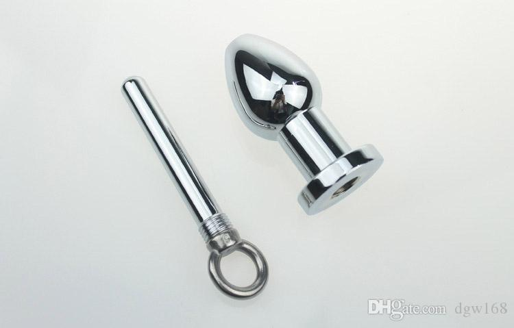 Sex toys Anal toy Male Stainless Steel Anal plug Bondage Gear butt plug BDSM Gay fetish anal sex products