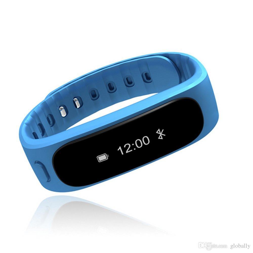 Оптовая H9 Смарт Шаги Расстояние Монитор Калорий Цели Дисплей Давно Сидя Смарт Браслет Браслет Bluetooth 4.0 для iOS / Android