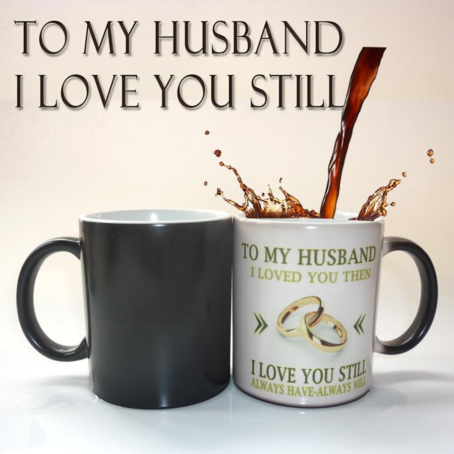wholesale to my husband wedding anniversary gift coffee mug magic