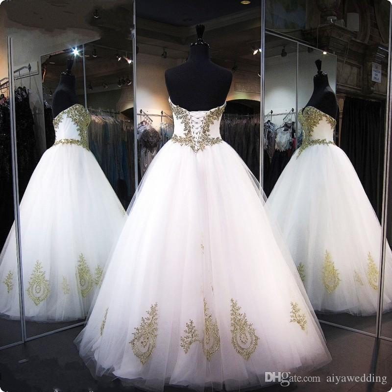 Cheap Ball Gowns Prom Dresses for Pageant Women 2019 Real Pictures Lace up Corset Sexy Sweetheart Quinceanera Dresses Sweet 17 Years