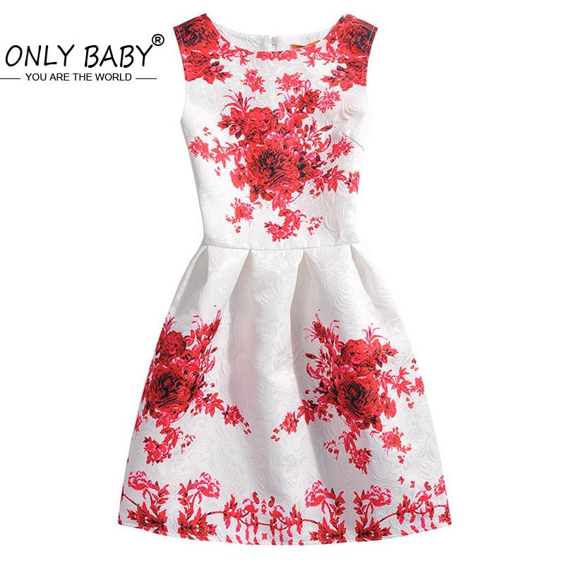 2017 Party Teenage Girls Clothes Flower Girl Dresses Princess ...