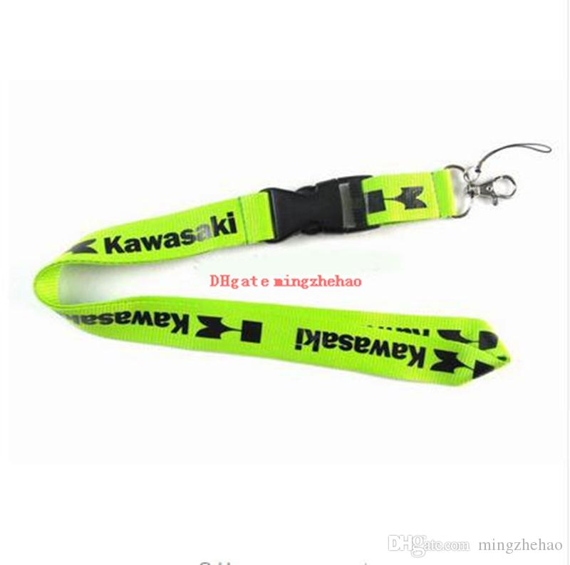 Kawa saki Motorcycle Logo key lanyard ID badge Holders mobile neck strap keychains