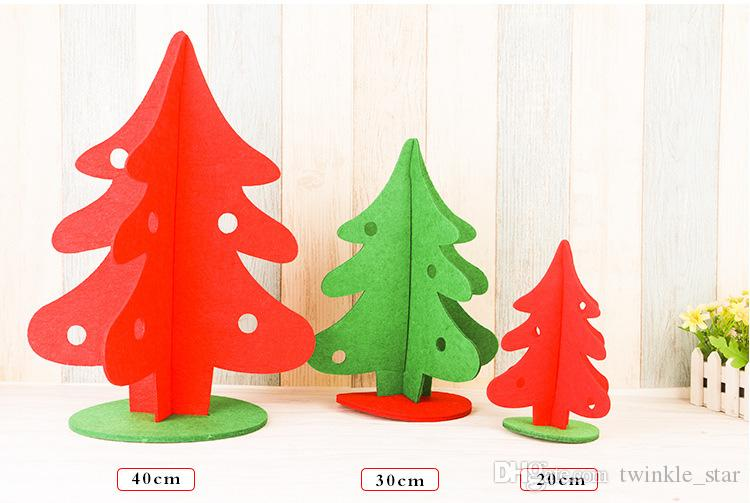 non woven fabrics merry christmas decoration tree home and office desk decoration for christmas festival day use outdoor christmas decor outdoor christmas