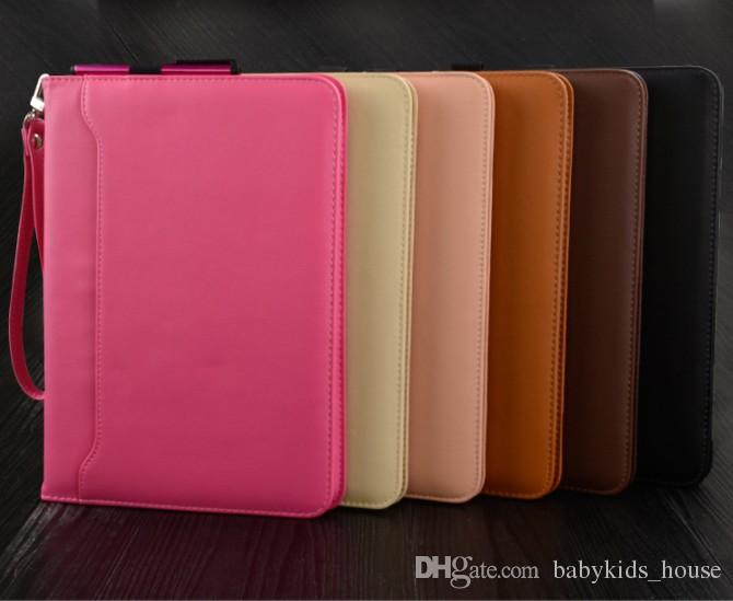 hot fashion leather case smart cover for ipad 2 3 4 5 air 2 pro 9 7cheap ipad case anti best ipad case blue