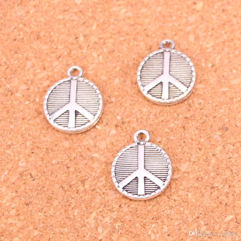 2018 charms peace symbolantique making pendant fitvintage 2018 charms peace symbolantique making pendant fitvintage tibetan silverjewelry diy bracelet necklace 15mm from yijieby 805 dhgate buycottarizona Gallery
