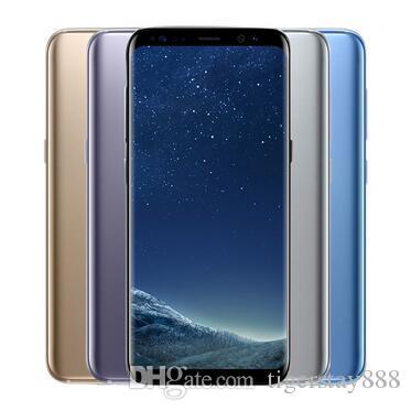 Original Samsung Galaxy S8 S8 Plus Unlocked Cell Phone RAM 4GB ROM  64GB/128GB Android 7 0 5 8 2960x1440 12 0MP refurbished phone