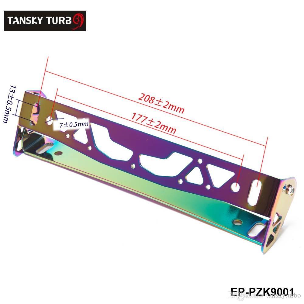 Tansky - سيارة التصميم قابل للتعديل لوحة ترخيص الإطار قوة سباق لوحة ترخيص لوحة إطارات العلامة حامل ل Janpanese / الأوروبي سيارة EP-PZK9001