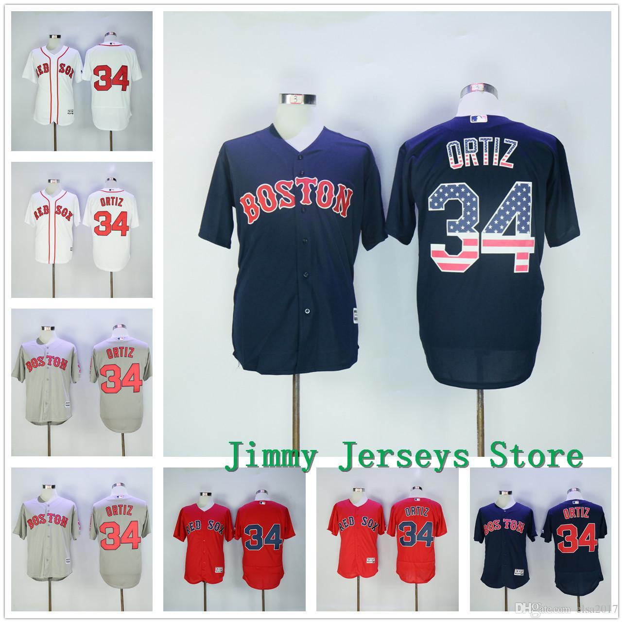 wholesale dealer 51539 be33f 34 david ortiz jersey sales