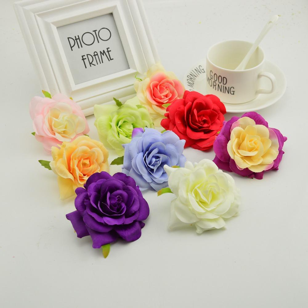 Artificial flower cheap for home wedding flower wall decoration diy artificial flower cheap for home wedding flower wall decoration diy needlework wreaths hat shoes flower silk roses head artificial flowers wedding izmirmasajfo Gallery