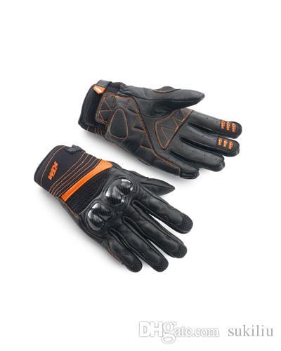 2015 KTM RADICAL X guanti in fibra di carbonio motocicletta guanti da moto in pelle guanti da corsa in pelle