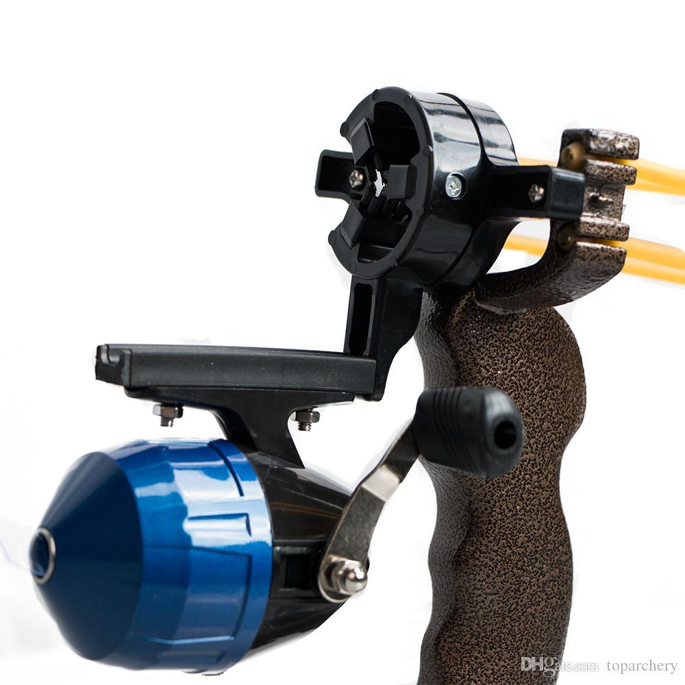 الجملة الكبار قوية الهدف الصيد الرماية المقلاع مع للطي المعصم المهنية هنتر الصيد السمك حبال النار
