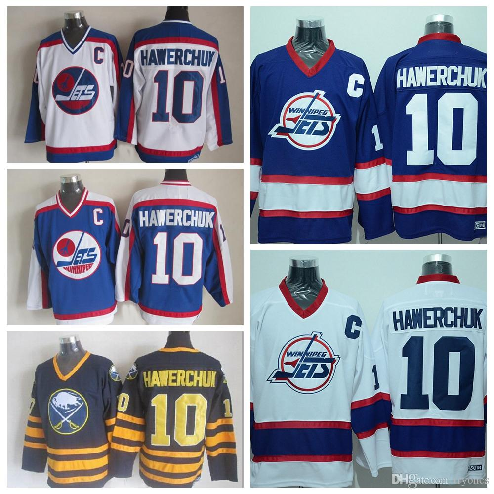 02a19924 ... NHL Jersey 2017 Throwback Dale Hawerchuk Winnipeg Jets Hockey Jerseys  1992 Ccm Vintage 10 Dale Hawerchuk Buffalo Sabres ...