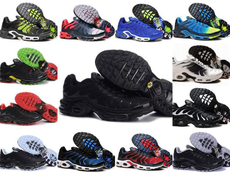 grossiste 65a1b 6be5a Wholesale 2019 TN PLUS Mens Original Fashion Sneakers TN AIR ShOes Sales  TOP Quality Cheap France BASKET TN ReQUIN ChauSSures Size 40-46