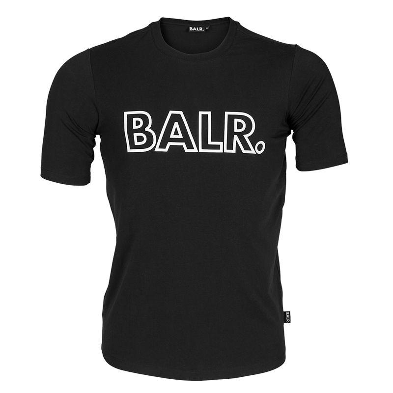 BW de alta qualidade de fundo redondo de 2016 nova moda Euro tamanho BALRED esboço t camisa homens roupas longas back-balrt camisa