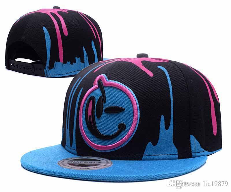 77968e69e6d20 Wholesale 2017 Brand New YUMS Smile Snapback Baseball Caps Hats Casquette  Bone Aba Reta Hip Hop Sports Gorras Caps For Men Custom Baseball Hats From  ...
