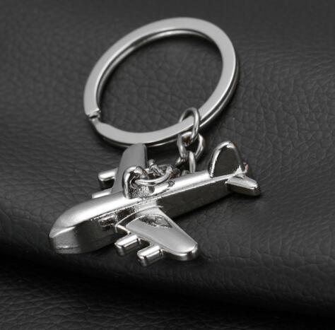 Supporto in lega di zinco Portachiavi nuovo piano portachiavi Mini Aereo Modello anello chiave gli uomini portachiavi Charms catena chiave Aereo Portachiavi Drop Shipping