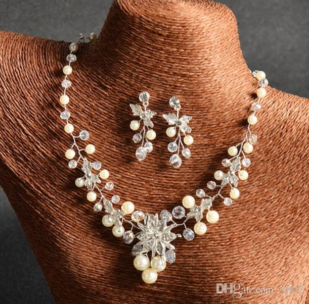 Crystal Wedding Bridal Jewelry Sets Gifts For Bridesmaids Wedding