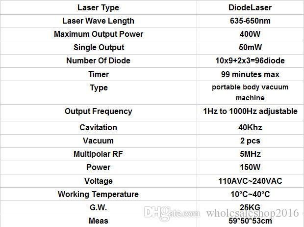 DHL 2017 NOVO LipoLaser Emagrecimento Instrumento Removedor De Queima De Gordura Rápida Lipo Máquina A Laser