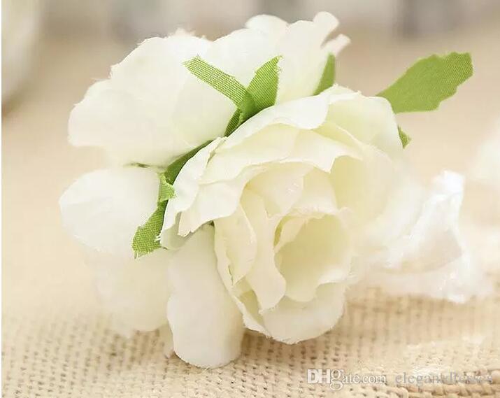 Свадебный банкет праздничные атрибуты свадебные невесты цветок запястье корсаж запястье цветок высокого качества пены головной убор цветок