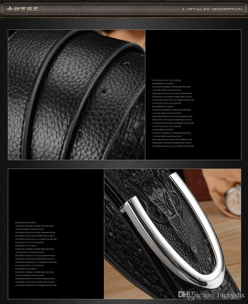 Hot designer ceinture hommes de mode hommes ceintures luxe haute qualité ceintures pour hommes en cuir véritable hommes bels